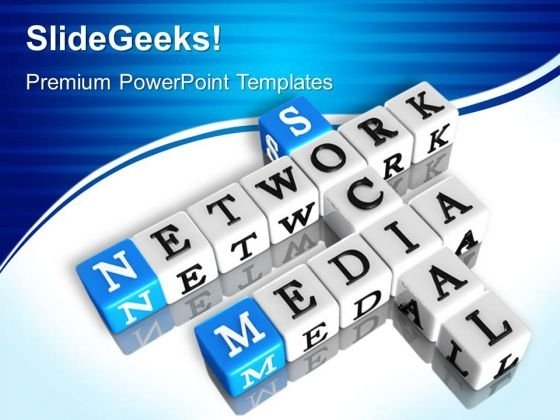 Network Media PowerPoint Templates And PowerPoint Themes 0512
