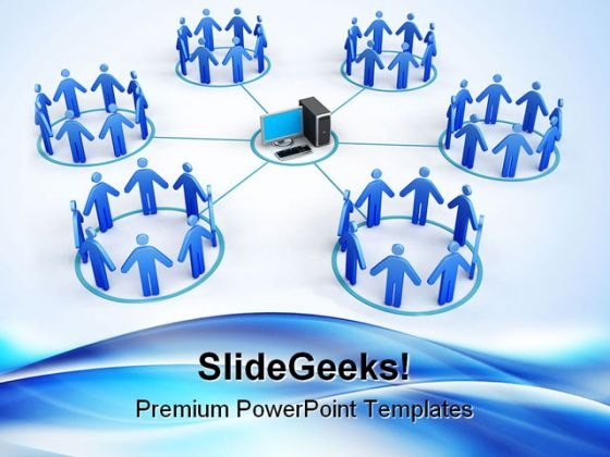 Networking01 Business PowerPoint Themes And PowerPoint Slides 0511