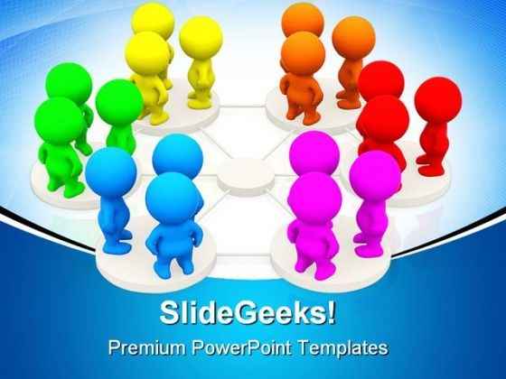 Networking People Communication PowerPoint Templates And PowerPoint Backgrounds 0311