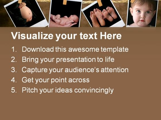 new_born_collage_baby_powerpoint_template_0810_text