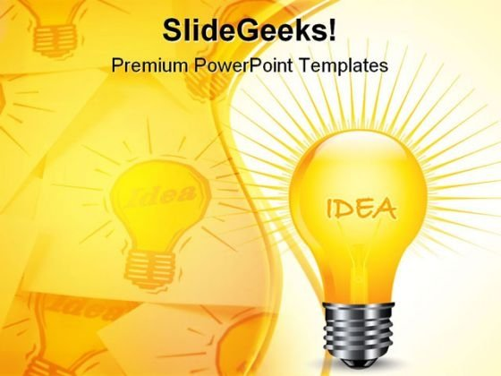 New Idea Business PowerPoint Templates And PowerPoint Backgrounds 1211