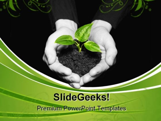New Life Nature PowerPoint Templates And PowerPoint Backgrounds 0511