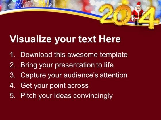 new_year_2014_with_santa_powerpoint_template_1113_text