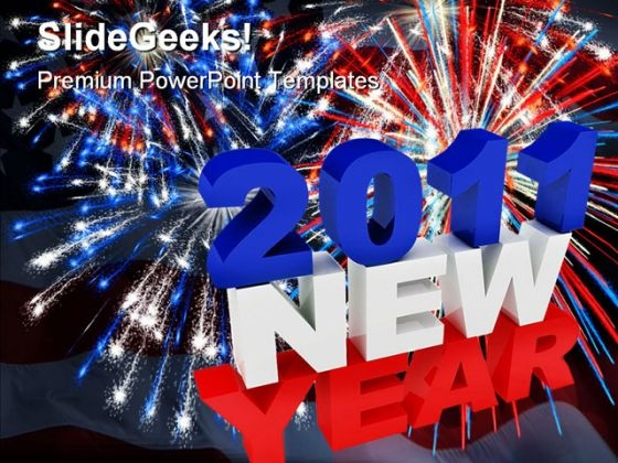 new year americana powerpoint template 1110 powerpoint themes
