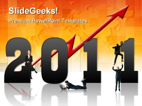 New Year Business 2011 Success PowerPoint Templates And PowerPoint Backgrounds 0311