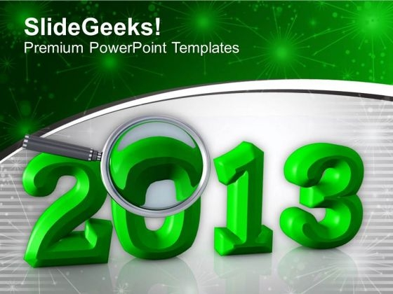 New Year Celebration 2013 PowerPoint Templates Ppt Backgrounds For Slides 0513