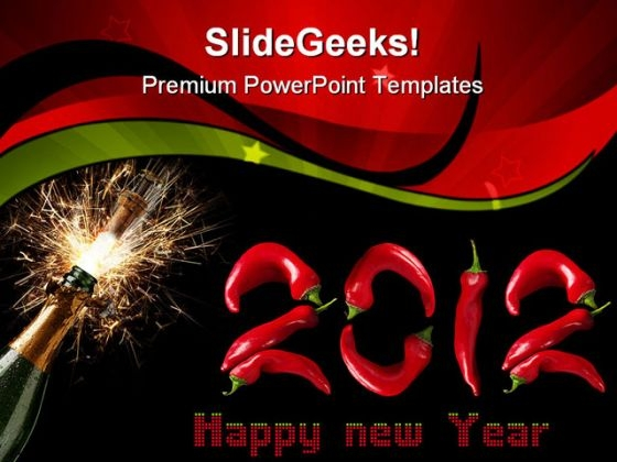 New Year Celebration Entertainment PowerPoint Templates And PowerPoint Backgrounds 1011