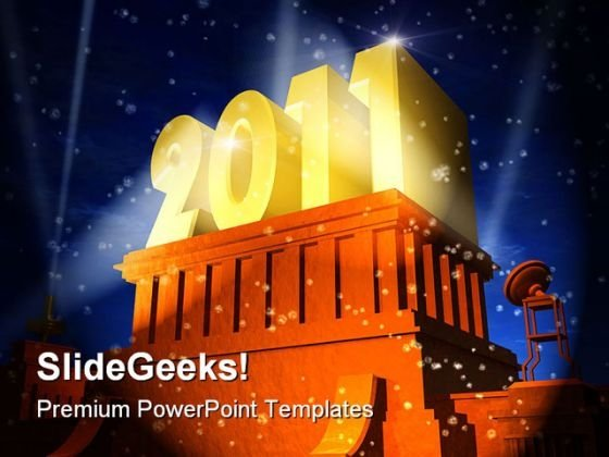 New Year Celebration Festival PowerPoint Backgrounds And Templates 1210