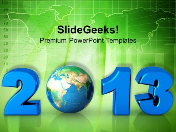 New Year Eve Around Globe Business PowerPoint Templates Ppt Backgrounds For Slides 1212