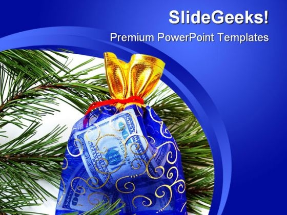 New Year Gift Festival PowerPoint Templates And PowerPoint Backgrounds 0711