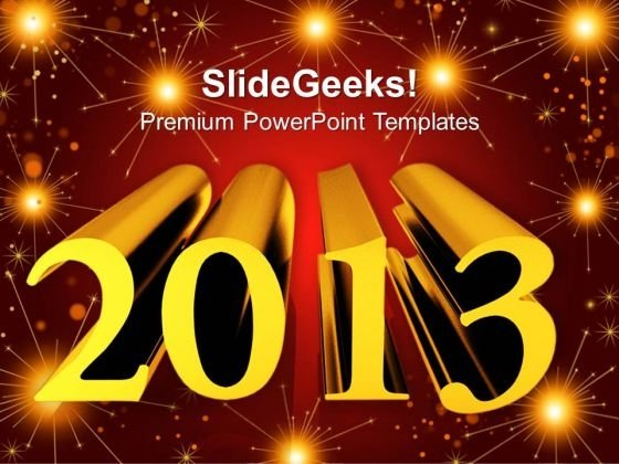 New Year High Resolution Festival PowerPoint Templates Ppt Backgrounds For Slides 1212