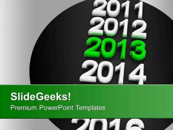 New Year Holidays 2013 Celebration Party PowerPoint Templates Ppt Backgrounds For Slides 0113