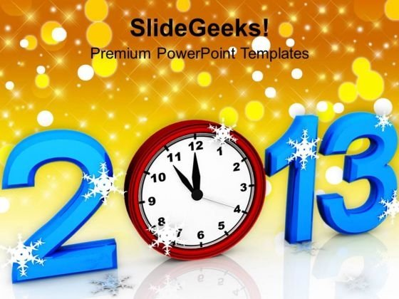 New Year Holidays PowerPoint Templates Ppt Backgrounds For Slides 1112