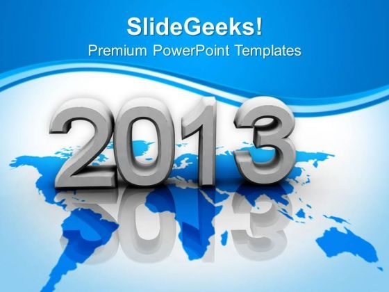 New Year Metaphor PowerPoint Templates Ppt Backgrounds For Slides 1212