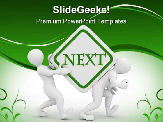 Next People Business PowerPoint Backgrounds And Templates 0111