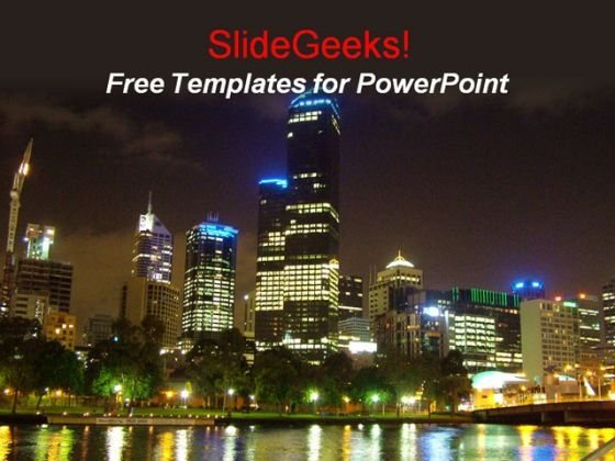 Nightlife PowerPoint Template