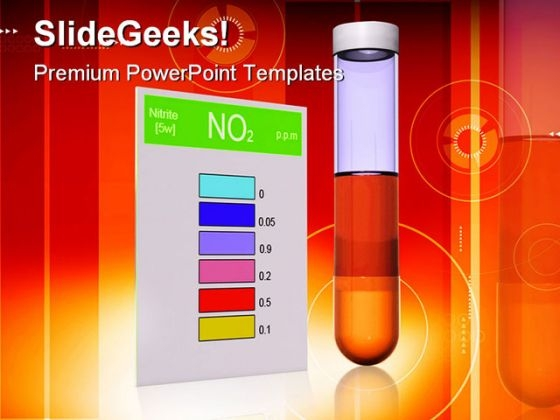 Nitrite Test Science PowerPoint Themes And PowerPoint Slides 0211