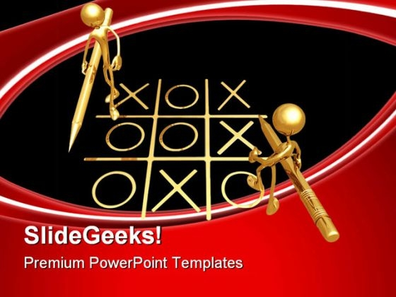 No Winners Game PowerPoint Themes And PowerPoint Slides 0811