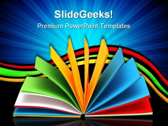 Notebook Education PowerPoint Templates And PowerPoint Backgrounds 0511
