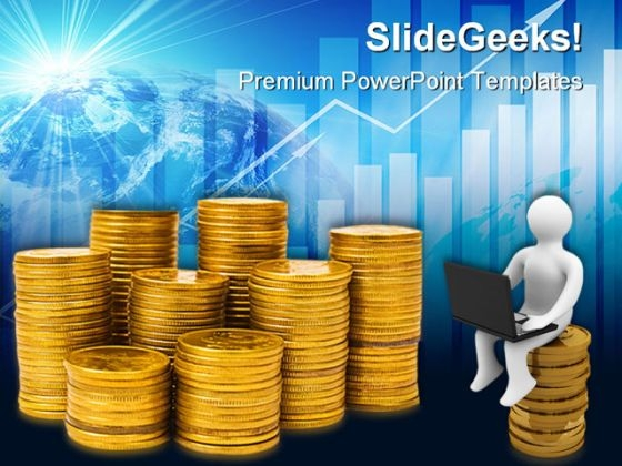 Online Business Internet Success PowerPoint Themes And PowerPoint Slides 0411