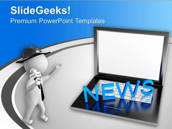 Online News Internet PowerPoint Templates Ppt Backgrounds For Slides 0213