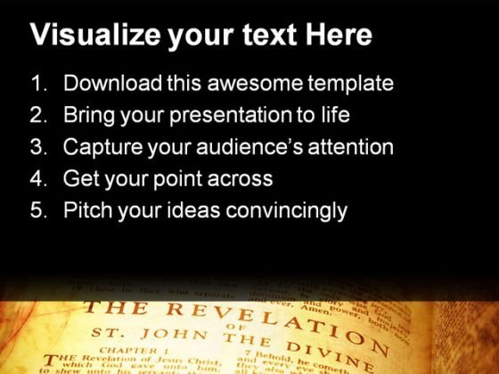 open_bible_the_revelation_religion_powerpoint_templates_and_powerpoint_backgrounds_0211_text