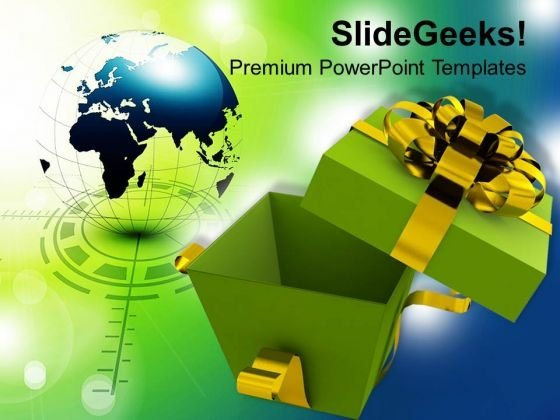 Open Gift Box Business PowerPoint Templates Ppt Backgrounds For Slides 1112