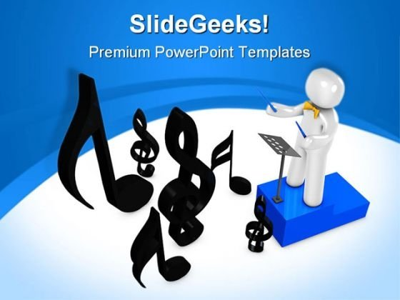 Orchestra Music PowerPoint Themes And PowerPoint Slides 0711