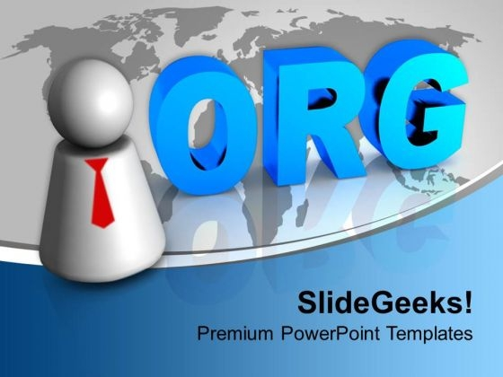 Org Icon Global PowerPoint Templates Ppt Backgrounds For Slides 1212
