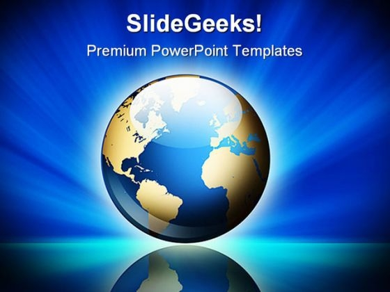 Our Own Earth Global PowerPoint Templates And PowerPoint Backgrounds 0311