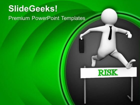 Overcome The Milestones And Reach The Target PowerPoint Templates Ppt Backgrounds For Slides 0713