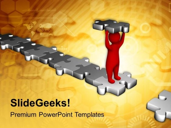 Overcome The Obstacles Business PowerPoint Templates Ppt Backgrounds For Slides 0513