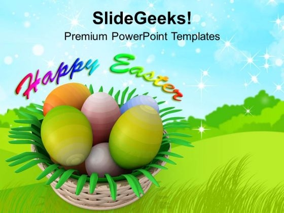 Easter Egg Powerpoint Templates Slides And Graphics