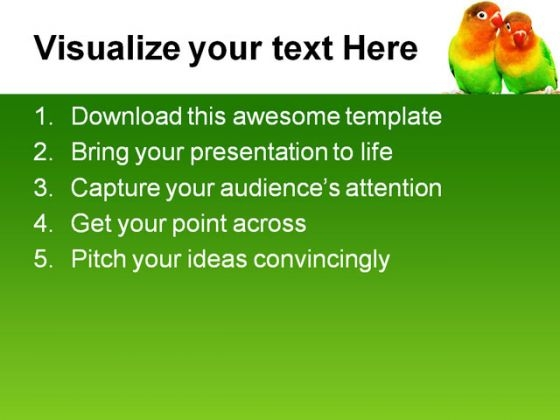 pair_of_lovebirds_animals_powerpoint_themes_and_powerpoint_slides_0611_text