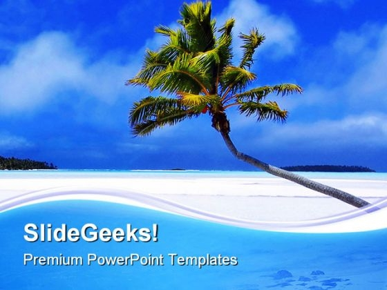 Beach powerpoint themes palm paradise beach powerpoint templates and powerpoint backgrounds 0711 toneelgroepblik Choice Image