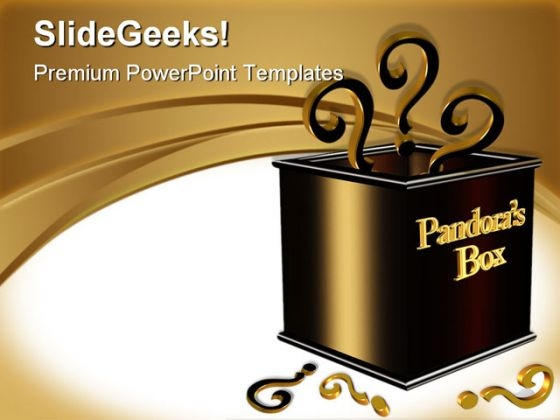 Pandora Box Business PowerPoint Themes And PowerPoint Slides 0511