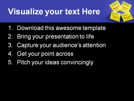 paper_notes_business_powerpoint_template_0810_text