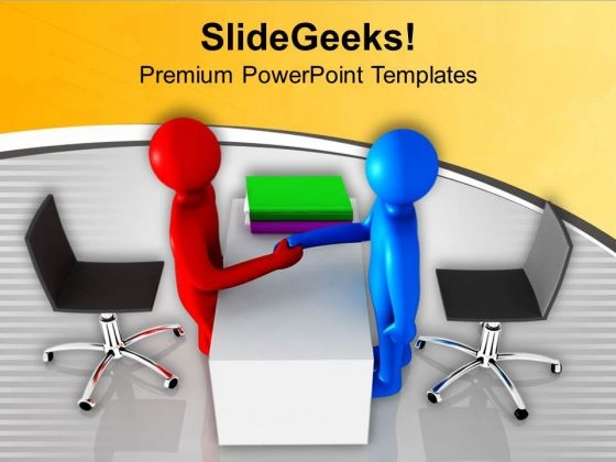 Partners For Business And Sales PowerPoint Templates Ppt Backgrounds For Slides 0713