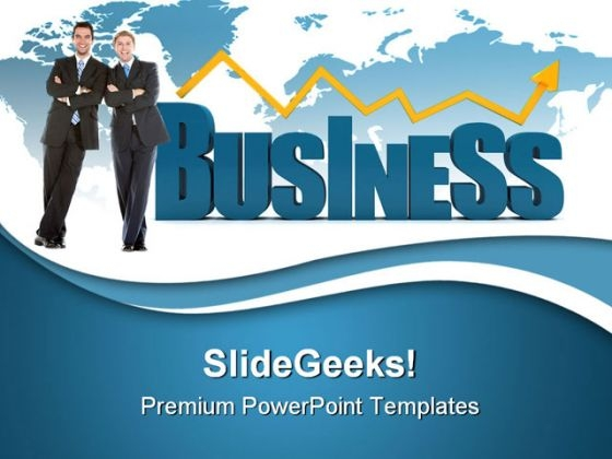 Partners With Business Success PowerPoint Templates And PowerPoint Backgrounds 0511
