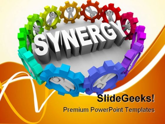 People In Gears Business PowerPoint Themes And PowerPoint Slides 0811
