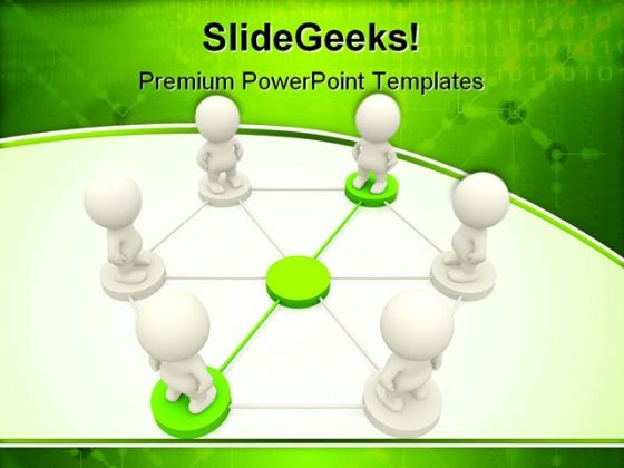 People Networking Business PowerPoint Templates And PowerPoint Backgrounds 0511