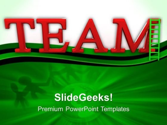People Networking Team Leadership PowerPoint Templates And PowerPoint Themes 0612