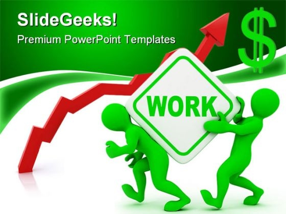 People With Work Metaphor PowerPoint Templates And PowerPoint Backgrounds 0211