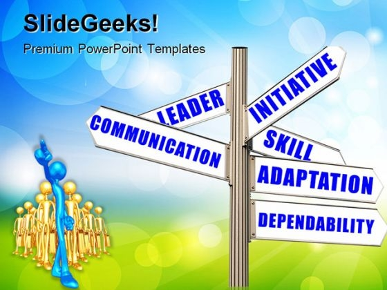 Performance Goals Communication PowerPoint Themes And PowerPoint Slides 0911