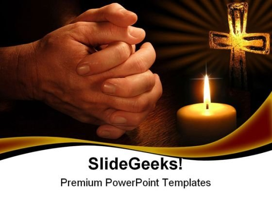 Petition Religion PowerPoint Templates And PowerPoint Backgrounds 0511