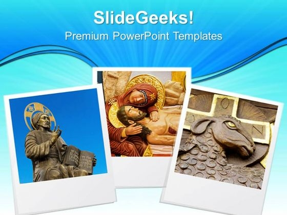Photo Frame Religion PowerPoint Templates And PowerPoint Themes 0812