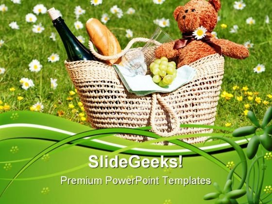 Picnic Holidays PowerPoint Themes And PowerPoint Slides 0611