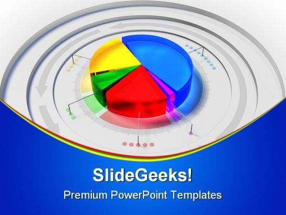 Pie Chart05 Business PowerPoint Templates And PowerPoint Backgrounds 0611