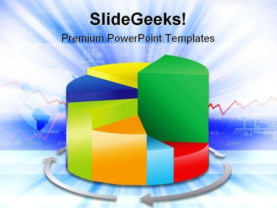 Pie Chart05 Business PowerPoint Themes And PowerPoint Slides 0411