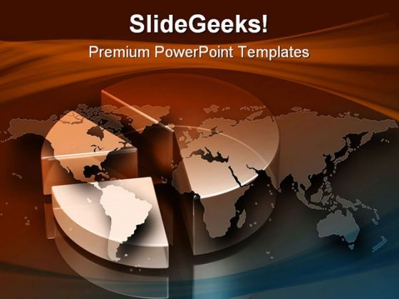Pie Chart Business PowerPoint Templates And PowerPoint Backgrounds 0711